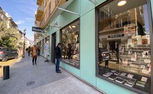 La librairie Masséna à Nice, le vendredi 19 mars 2021