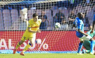 Mariusz Stepinski, buteur dimanche dernier contre Naples.