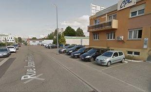 Rue Jean-Pierre Clause à Schiltigheim. Capture d'écran Google Street view