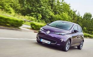 La Renault Zoé est la voiture électrique la plus vendue en France.
