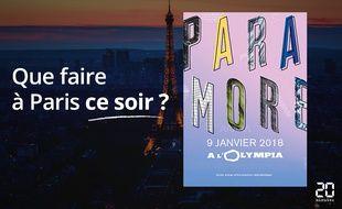 Paramore sera ce soir à l'Olympia.