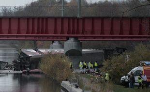 Un TGV a déraillé en Alsace le 14 novembre 2015.