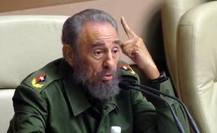 Fidel Castro, le 22 décembre 2005.