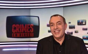 Jean-Marc Morandini, sur le plateau de «Crimes».