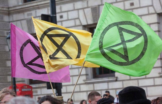 Le mouvement de désobéissance écolo «Extinction rebellion» débarque en France