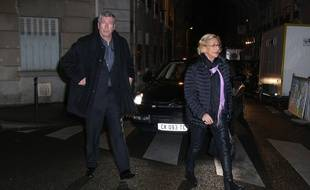 Patrick et Isabelle Balkany, le 30 janvier 2015 à Paris.
