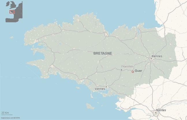 L'école militaire de Saint-Cyr est située sur la commune de Guer dans le Morbihan.