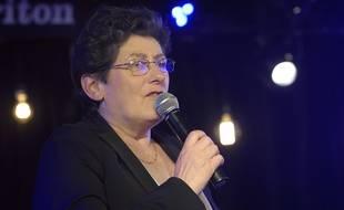 Isabelle Dhordain, aux Lilas le 21 avril 2016.