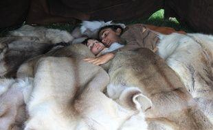 Il faudra dormir blotti dans des peaux de renne.