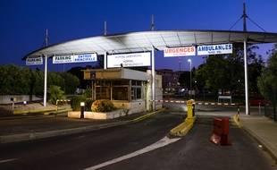 Les urgences de l'hôpital Lapeyronie à Montpellier (illustration)