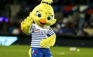 La mascotte de la Coupe du monde féminine en France.