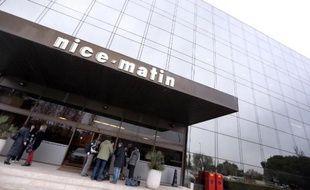 Le siège du journal Nice-Matin à Nice