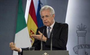 Le chef du gouvernement italien Mario Monti s'inquiète, dans un entretien au magazine allemand Der Spiegel, des tensions liées à la crise, qui ont dressé certains pays contre d'autres, jugeant nécessaire d'empêcher qu'elles ne débouchent sur l'éclatement de la zone euro.