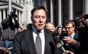 L'entrepreneur Elon Musk