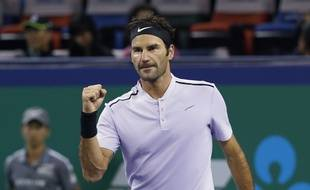 Federer file en finale à Shangai.