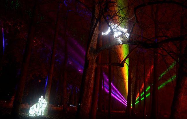 Le parc de la Tête d'Or, coup de cœur de la rédaction pour la fête des lumières de Lyon.