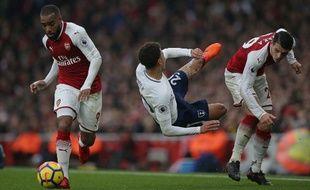Lacazette a été brillant face à Tottenham.