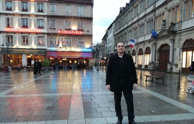 Tristan Lavier était de passage à Strasbourg début mars dans le cadre d'un festival entrepreneurial du numérique, Bizz&Buzz.