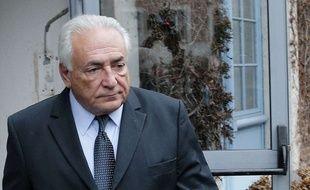 L'ancien patron du FMI Dominique Strauss-Kahn, le 11 février 2015 à Lille.