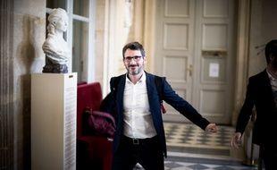 Matthieu Orphelin, député du Maine-et-Loire depuis juin 2017, ancien membre du groupe LREM à l'Assemblée.