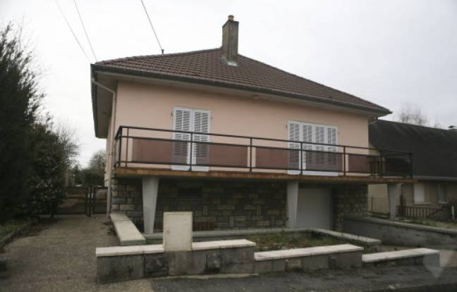 La maison du couple Daval, à Gray