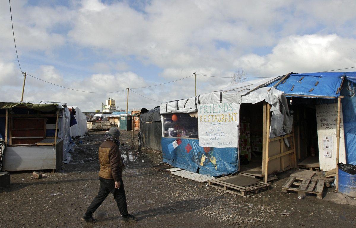Dans le camp de migrants  de Calais. – M.Libert/20 Minutes