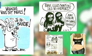 Images du numéro post-attaque terroriste de Charlie Hebdo