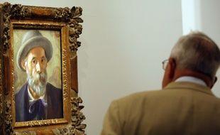 Un autoportrait d'Auguste Renoir.