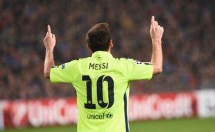 Lionel Messi a inscrit un doublé lors du match Ajax-Barcelone (0-2), égalant le record de 71 buts en C1 de Raul, le 5 novembre 2014.