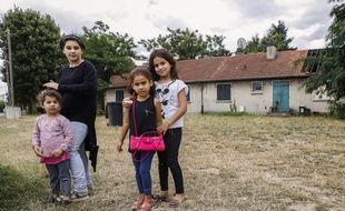Quelque 70 enfants vivent dans le quartier autrefois réservé aux employés de la DGAC.