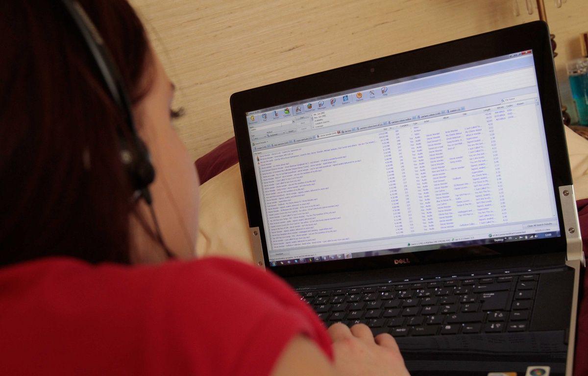 En 2013, 13,2 millions de Français ont consulté au moins une fois un site dédié au piratage. – VALINCO/SIPA