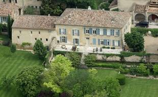 - FILE - This May 31, 2008 file photo shows the Miraval property in Correns, near Brignoles,  southern France, which is owned by U.S. actors Angelina Jolie and Brad Pitt. Jolie and Pitt were married Saturday Aug. 23, 2014 in Chateau Miraval, France, says a spokesman for the couple. Jolie and Pitt wed Saturday in a small chapel in a private ceremony attended by family and friends. In advance of the nondenominational civil ceremony, Pitt and Jolie also obtained a marriage license from a local California judge. (AP Photo/Lionel Cirronneau, File)/PAR103/9814325785/A MAY 31, 2008 FILE PHOTO/1408281501