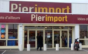 Un magasin du groupe Pier Import.