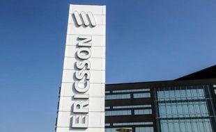 Un site Ericsson en Suède.
