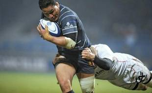 Le 3e ligne néo-zélandais du RC Toulon Chris Masoe a été élu par ses pairs meilleur joueur du Top 14 pour la saison 2011/2012 lors de la Nuit du rugby lundi soir au pavillon d'Armenonville à Paris.