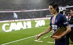 Cavani, à la fin de PSG-Bordeaux