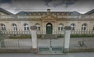 La façade de Sciences Po Rennes.