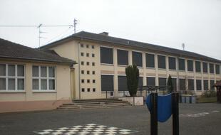 L'école maternelle Oberlin, à Sélestat, dans le Bas-Rhin.