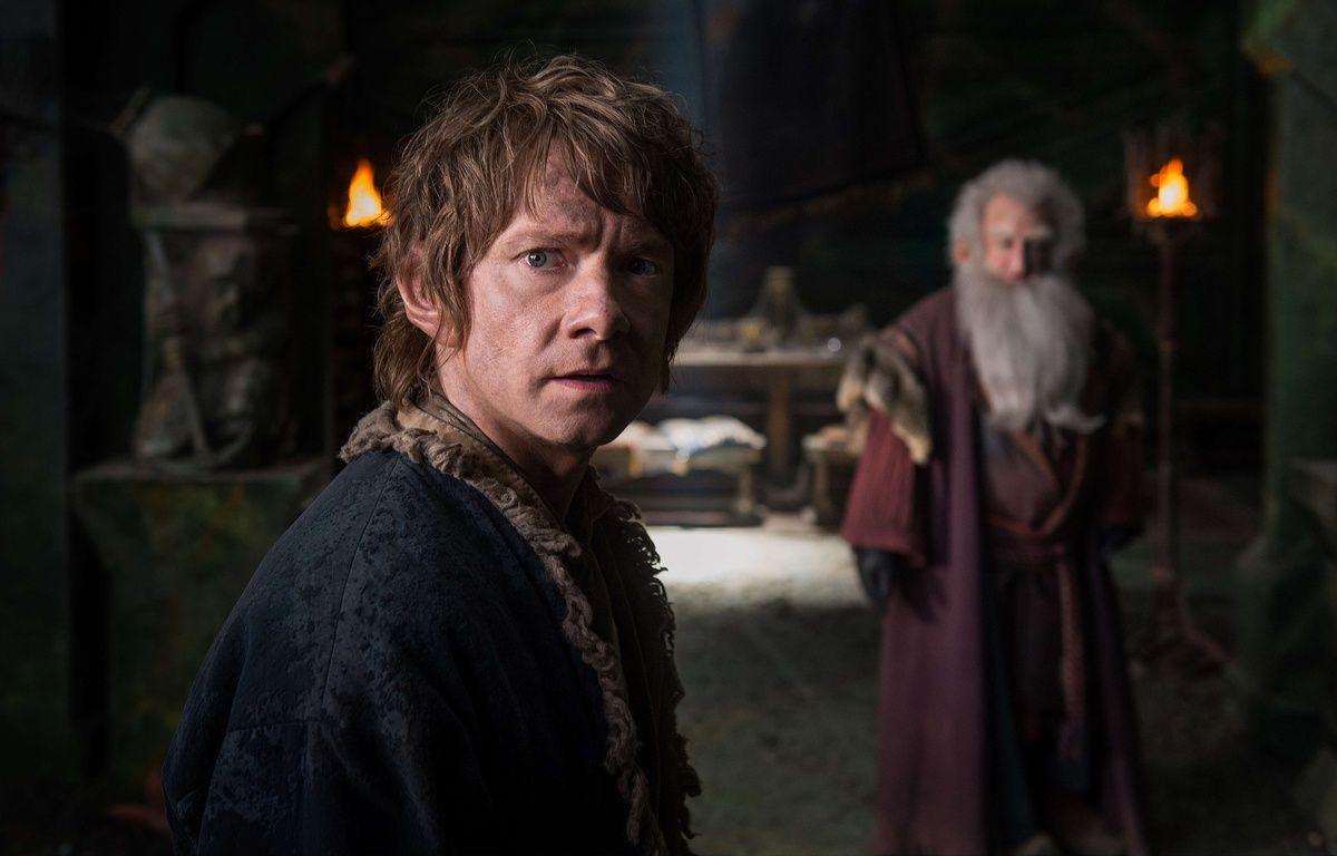 Martin Freeman dans Le Hobbit. Illustration. – Mark Pokorny/AP/SIPA