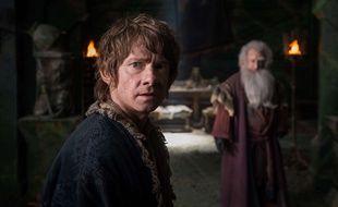 Martin Freeman dans Le Hobbit. Illustration.