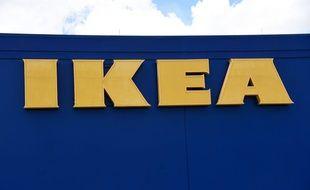 Une enseigne Ikea