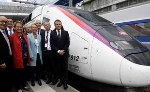 Le président de la République était présent lors de l'inauguration des LGV Paris-Bordeaux et Paris-Rennes