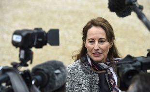 La ministre Ségolène Royal, le 28 janvier2015. AFP PHOTO / MARTIN BUREAU