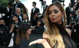 Nabilla Benattia le 18 mai 2014 à Cannes