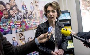 La ministre des Affaires sociales Marisol Touraine à Paris le 22 avril 2014