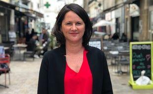 Johanna Rolland, maire PS de Nantes depuis 2014.