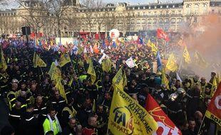 Mardi, place de la République à Paris