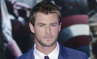 L'acteur Chris Hemsworth à Londres en avril 2015.