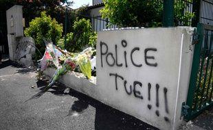 Le drame a eu lieu rue des Plantes, quartier du Breil à Nantes / AFP PHOTO / Damien MEYER