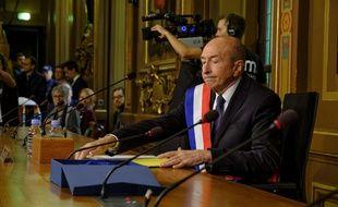 Gérard Collomb a été réélu à la ville de Lyon le 5 novembre 2018, un mois après avoir quitté le gouvernement. Bony / Sipa